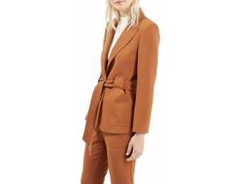 64% off Women's Topshop Belted Jacket