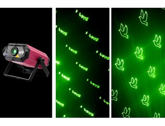 $250 off Chauvet Scorpion Script Custom Text Laser