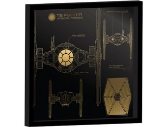 60% off Star Wars: The Force Awakens Tie Fighter Canvas Art