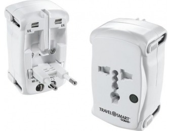 73% off Travel Smart by Conair All-In-One Adapter