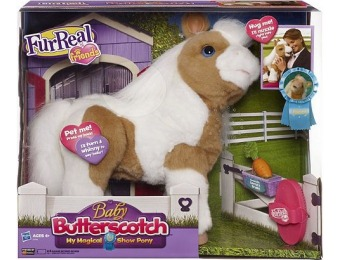 50% off FurReal Friends Baby Butterscotch My Magical Show Pony