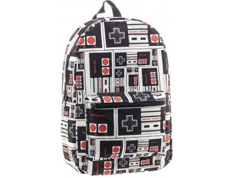 40% off Classic Nintendo NES Controller Backpack, Grey