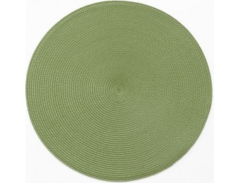 $3 off SONOMA outdoors Round Placemat, Green