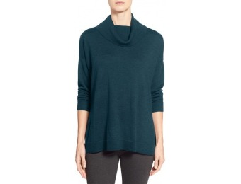 50% off Women's Eileen Fisher Boxy Merino Wool Turtleneck Sweater