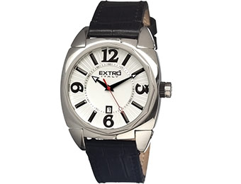 81% off Extro Italy Stainless Steel Men's Watch EXM00150.01.NE