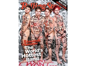 93% off Rolling Stone Magazine: 6 month auto-renewal