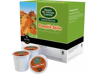 57% off Keurig Green Mountain Pumpkin Spice K-cups (18-pack)