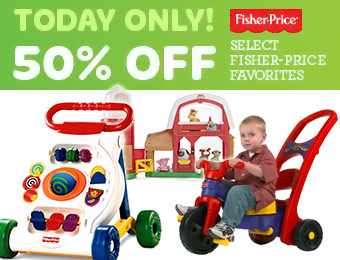50% off Fisher-Price Favorite Toys