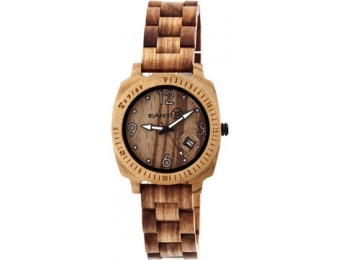 74% off Wood Indios Watch by EARTH