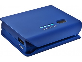 57% off Insignia NS-MB5200B Mobile Battery Pack - Blue