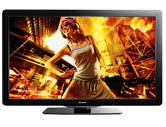 "$120 off Philips 55PFL3907/F7 55"" 1080p 120Hz HDTV"