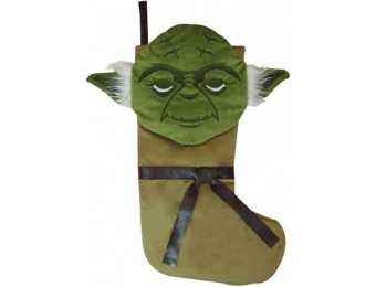 $24 off St. Nicholas Square 21-in. Star Wars Yoda Stocking