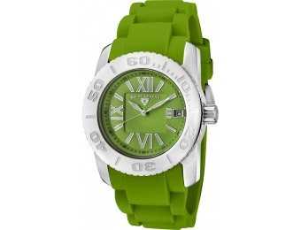 $563 off Swiss Legend 10114-08 Commander Green Silicone Watch