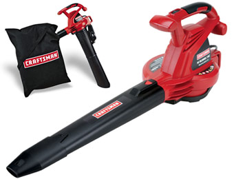 $24 off Craftsman 24031 12 Amp Electric Blower and Vacuum