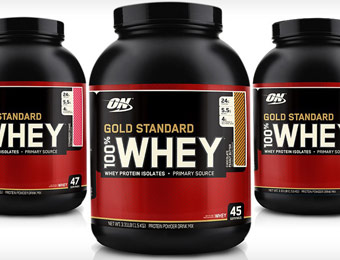 $32 off Optimum Nutrition Gold Standard 100% Whey Protein