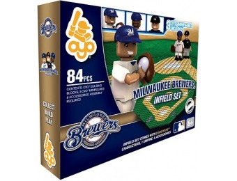 40% off OYO Sports Milwaukee Brewers 84-Piece Infield Set