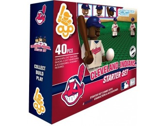$12 off OYO Sports Cleveland Indians 40-Piece Starter Set