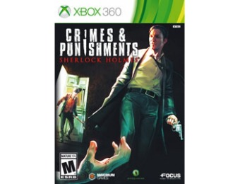 $30 off Crimes and Punishments: Sherlock Holmes Xbox 360