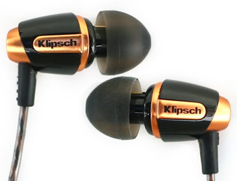$55 off Klipsch Reference S4 In-Ear Noise-Isolating Headphones