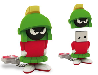 25$ off Looney Tunes Marvin the Martian 4GB USB Flash Drive