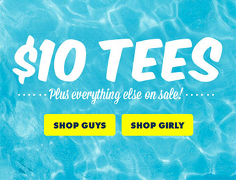 $10 T-Shirt Sale at Threadless