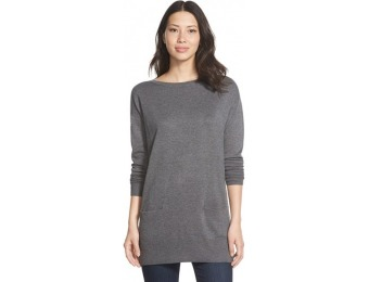 65% off Petite Women's Caslon Two-Pocket Knit Tunic