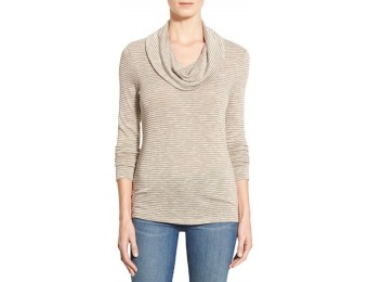 $31 off Petite Women's Caslon Cowl Neck Long Sleeve Top