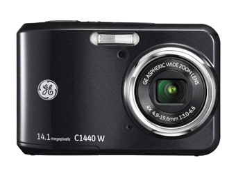 $30 off GE C1440W 14.1MP Digital Camera with 720p HD Video