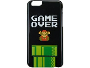 $9 off Nintendo Mario Game Over Case for iPhone 6