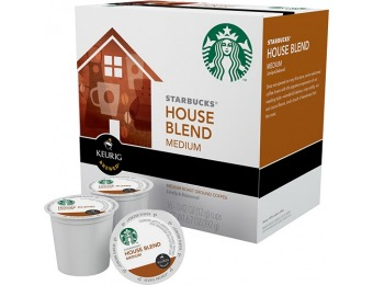 43% off Keurig Starbucks House Blend K-cups (16-pack)
