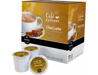 38% off Keurig Café Escapes Chai Latte K-cups (16-pack)
