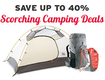 Save up to 40% - Scorching Camping Deals at REI-Outlet