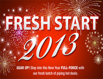 Hundreds of Hot Deals at the Newegg Fresh Start 2013 Sale