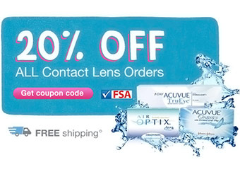 20% off All Contact Lens Orders w/ Walgreens code: SEASONS20