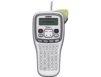 57% off Brother PTH100 Easy Handheld Label Maker