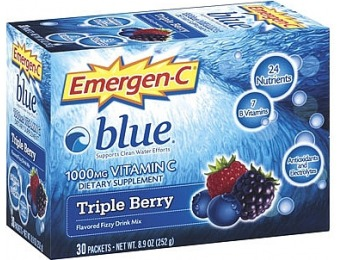 37% off Emergen-C Alacer Blue 1,000mg Vitamin C Energy Booster