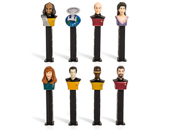 50% off Limited Edition Star Trek Pez Dispensers Collectors Series