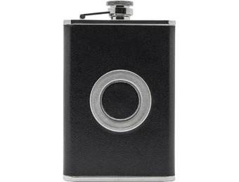 60% off Grand Star 8-oz. Flask With Built-in Shot Glass