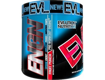 36% off Evlution Nutrition Pre-Workout, Fruit punch