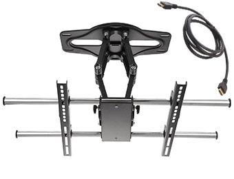 "50% off Rosewill RMS-MA5010 Articulating 37"" - 65"" TV Mount"