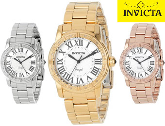 $415 off Invicta Angel Diamond-Accented Women's Watches