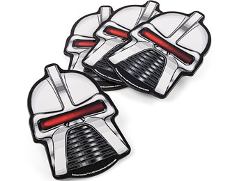 64% off Battlestar Galactica Cylon Coasters