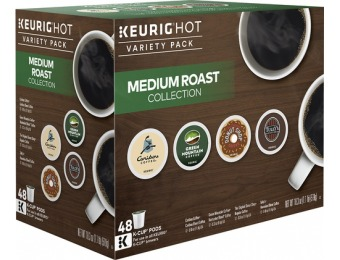 $13 off Keurig Medium Roast Variety Pack K-cups (48-count)