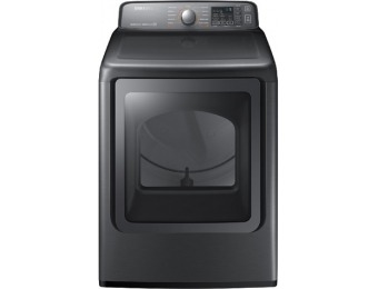 $520 off Samsung 7.4-cu ft Gas Dryer with Steam Cycles DV48J7770GP
