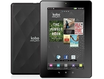 "$100 off Kobo Vox 7"" Android 8GB Touchscreen Tablet w/ WiFi"