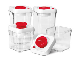$50 off Cuisinart FreshEdge 8Pc Vacuum-Seal Food Storage System
