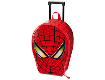 49% off Spider-Man Rolling Kids Luggage