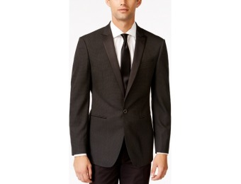71% off Calvin Klein Slim-Fit Black Diamond Evening Jacket
