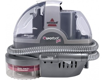 $50 off Bissell Spotbot Pet Portable Deep Cleaner - Silver Sparkle