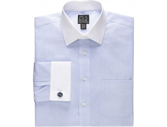 71% off Traveler White Spread Collar, White French Cuff Dress Shirt